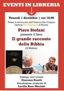 """Piero STEFANI presenta il libro: """" IL RACCONTO DELLA BIBBIA"""""""